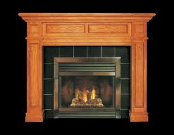 wooden fireplace surround ideas interior fancy image of home interior fireplace design using black tile