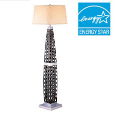 dark brown floor lamp