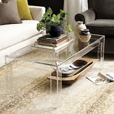 acrylic coffee tables clear table on free today p15707281