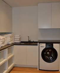 laundry furniture. Painted-white-laundry-cabinetry.JPG Laundry Furniture