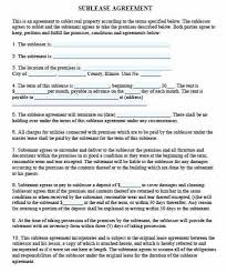 Template Lease Collection Lease Agreement Template Pdf