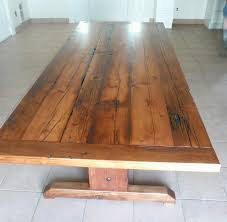 reclaimed barnwood dining table traditional dining tables toronto by new leaf carpentry co kitchen table reclaimed wood