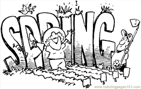 Small Picture Spring Coloring Page 05 Coloring Page Free Holidays Coloring