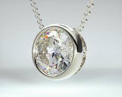 modern diamond pendant designs page 1