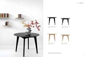 ethnicraft osso round dining table