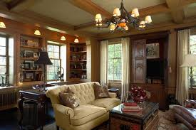neiman marcus furniture family room traditional with area rug bookcase bookshelves built ins chandelier
