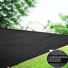 1 8m black privacy screen fence mesh