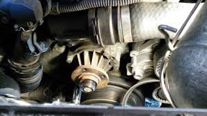 bmw e46 water pump removal