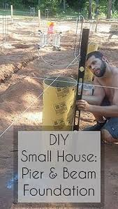 beam foundation small house