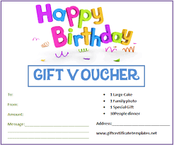 Birthday Certificate Templates Free Printable Simple Birthday Gift Certificate Templates By Wwwgiftcertificatetemplates