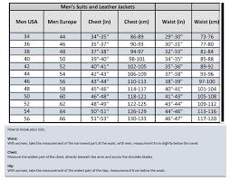 Teknic Size Chart 2019