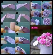 How To Make Rose Flower With Tissue Paper How Do I Make A Rose Out Of Tissue Paper Tissue Paper Rose