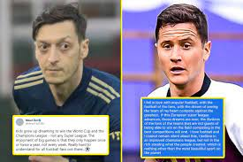 Paris Saint-Germain star Ander Herrera and ex-Arsenal man Mesut Ozil lead  criticism from players of European Super League