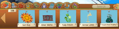 if you don t commonly play pw the tulips pitcher plant star rug and school lockers are actually really good and favoured items
