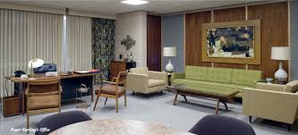 mad men style furniture. midcentury modern interior design style as seen on tv series mad men furniture r