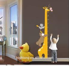 The Giraffe Wall Ruler Wall Sticker Growth Chart Sticker For Kids Buy Kids Height Growth Chart Wall Sticker Growth Chart Kids Height Measurement
