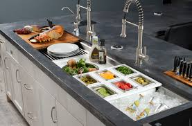 the galley sink. Brilliant Galley The River North Design District Recently Asked Hydrology To Fill Us In On  The Latest And Greatest Kitchen Accoutrements Hereu0027s What They Have Say  For Galley Sink