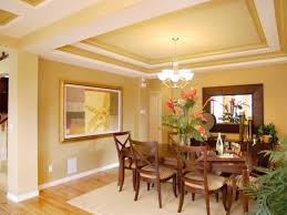 Dining Room Tray Ceilings
