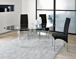 Dining Room  Small Modern Glass Dining Table With White Wooden Small Oval Dining Table Modern