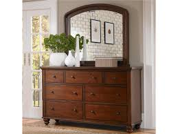 Aspenhome Cambridge 7 Drawer Double Dresser & Mirror bo Royal