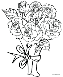 Coloring Pages For Adults Roses At Getdrawingscom Free For