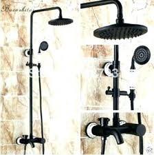 bronze handheld shower dual shower head em delta heads with bronze oil rubbed extension delta bronze handheld shower head
