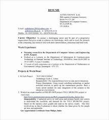 What Is A Good Resume Title Fascinating Best Resume Title Examples For Freshers Attractive Fresher Objective