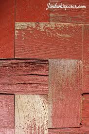 red barn wood. Reclaimed Barn Wood Tiles, Red Herring Bone Pattern, Grey Board, Old Century -