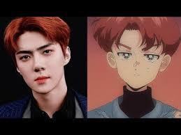Exo, çizim, kpop hakkında daha fazla fikir görün. Exo Tempo Anime Version Youtube