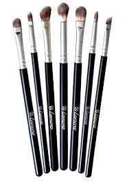 pretty makeup brush sets. makeup eye brush set - eyeshadow eyeliner blending crease kit best choice 7 essential pretty sets