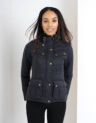 Barbour: International Caster Quilt: -| Oscuro Apparel.com & Barbour has updated their famed quilted jackets with this biker style quilt  jacket which, adds a new edge to the classic style. The jacket features  four ... Adamdwight.com