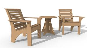 Patio Furniture Made From Recycled Wooden Pallets  Recycled ThingsOutdoor Furniture Recycled