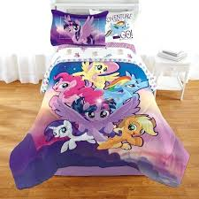 my little pony bed set bedding full bedroom sets comforters comforter queen toddler