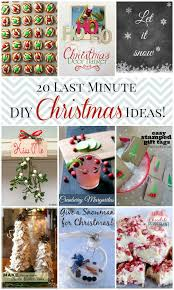 20 last minute DIY Christmas crafts, decor, recipes, and drinks!