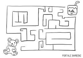 Labirinti Per Bambini Da Stampare Portale Bambini