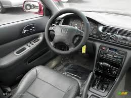 1996 Bordeaux Red Pearl Honda Accord EX Sedan #66431738 Photo #23 ...