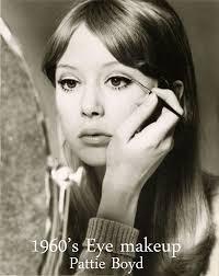 patti boyd 1960s eye makeup