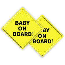 4 00 After Rebate Baby On Board Signs For Your Car
