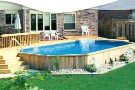 home swimming pools above ground. Above Ground Pool Underground Image Partially . Home Swimming Pools