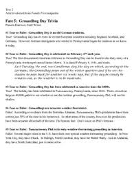 day informational essay writing prompt common core tnready aligned groundhog day informational essay writing prompt common core tnready aligned