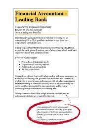 Sample Job Description For Group Accountant