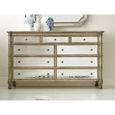 antique mirrored furniture. Melange Montage Gold Mirrored Drawer Dresser Antique Furniture E