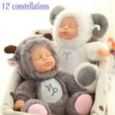 17 & <b>28cm</b> sit <b>sleeping girls</b> Silicone reborn dolls Twelve ...