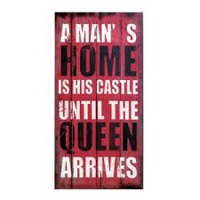 Queen Quotes Gorgeous Living Wall Art Queen Of The House Bedroom Decor Rustic Quotes Wood