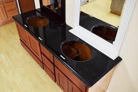 double sink pre cut vanity top