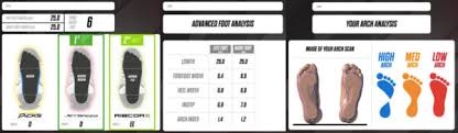 Bauer Skate Fit Chart Check Out The Ccm Hockey 3d Skate Fit Scanner Cyclone