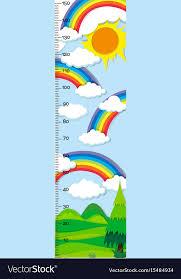 Bitcoin Rainbow Chart Height Measurement Chart With Rainbow In