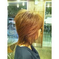 ミディアムウルフスタイル Ability Hairアビリティヘアーのヘア