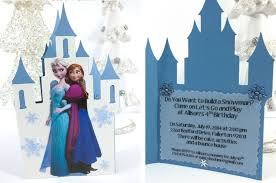 Frozen Birthday Invitations Frozen Birthday Party Invitations Two Sisters