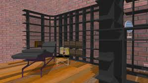 home library furniture. Large Preview Of 3D Model Smart Furniture Home Library